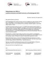 Wahlprüfsteine zur Bundestagswahl 2013 ... - AWO Karlsruhe