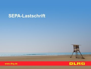 SEPA-Lastschrift - DLRG