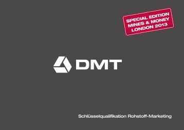 Download Marketing Broschüre - DMT GmbH & Co. KG