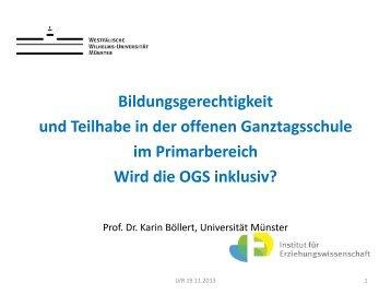 Wird die OGS inklusiv? - Landschaftsverband Rheinland