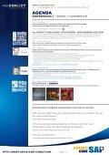 11. – 12. NOVEMBER 2013 maRItIm pRoaRte hotel beRlIN - DSAG - Page 6