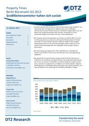 Research Sheet re Singapore Q3 2012 - DTZ