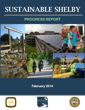 Sustainable Shelby Progress Report 2014