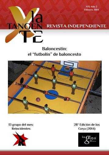 Revista X La Tangente 06 Febrero de 2014