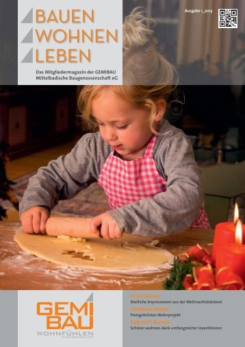 Mitgliedermagazin Bauen Wohnen Leben 1 / 2013 - GEMIBAU ...