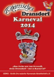 Festschrift - Große Dransdorfer Karnevals-Gesellschaft e.V.