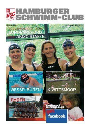 HSC Post 2/2013 - Hamburger Schwimm-Club von 1879 e.V.
