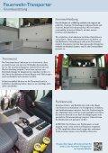 Feuerwehr -Transporter - HENSEL Fahrzeugbau - Seite 2