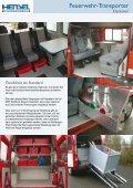 Feuerwehr -Transporter - HENSEL Fahrzeugbau - Seite 3