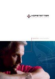 Präzision entscheidet - Hofstetter GmbH & Co