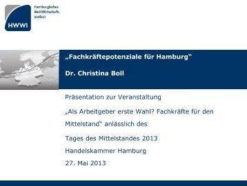 Fachkräftepotenziale für Hamburg - HWWI