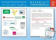 Merkblatt U4 und U5
