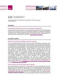 102 KB - Kassenärztliche Bundesvereinigung