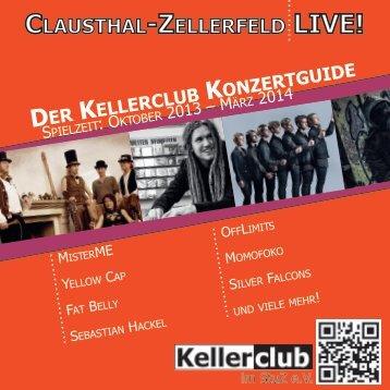 CLAUSTHAL-ZELLERFELD LIVE! - Kellerclub