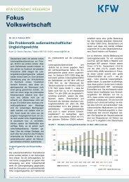 Die Problematik außenwirtschaftlicher Ungleichgewichte (PDF ... - KfW