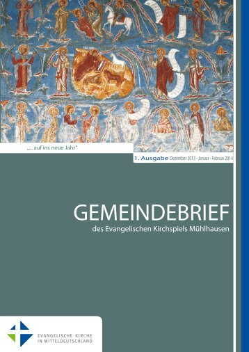 Gemeindebrief: Dezember 2013 - Evangelischer Kirchenkreis ...