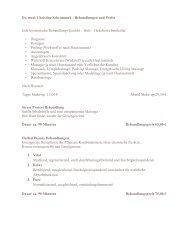 Dr. med. Christine Schrammek - Behandlungen und Preise Jede ...