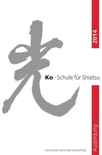 Ko • Schule für Shiatsu - Ko Schule für Shiatsu