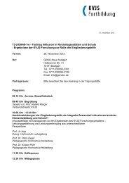 13-2-EHA8-1w - Fachtag Inklusion in Kindertagesstätten und Schule ...