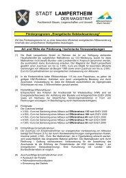 6-01 Förderprogramm Energetische Gebäudesanierung - Stadt ...
