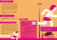 Flyer Mädchen Sucht Auswege - Angebote (für Fachpersonal) - PDF