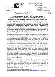 A-03-14 Toter Steinadler am Gruenten verschwunden.pdf - LBV
