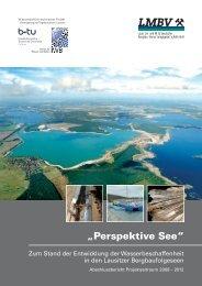 Perspektive See – Wasserbeschaffenheit in den Lausitzer ... - LMBV