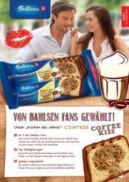 können Sie den Comtess Kuchen des Jahres Coffee Kiss 350g ...