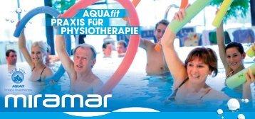 PHYSIOTHERAPIE AQUAfit PRAXIS F R - Miramar