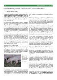 Gesundheitsmanagement im Schweine