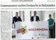 Communauten in Holzminden | Juni 2013 - Musikschule ...