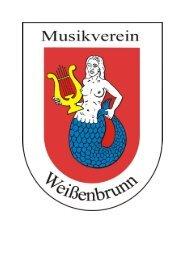 Neue Satzung - Musikverein Weissenbrunn