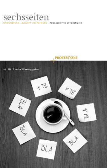 Orientierung - Zukunft von Führung PDF-Download - Process One