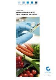 LF Rückstandsmonitoring Obst, Gemüse, Kartoffeln 01.01.14