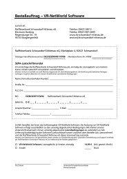 Bestellauftrag - Raiffeisenbank Schwandorf-Nittenau eG