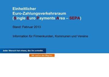 Zusammenfassung SEPA
