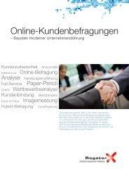 Prospekt Kundenbefragungen - Rogator AG