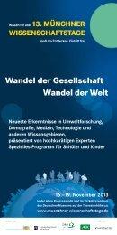 Wandel der Gesellschaft Wandel der Welt - Strascheg Center for ...