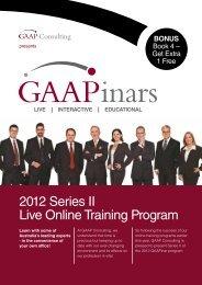 Gaapinar series ii brochure