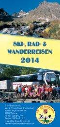 Ski-, Rad - Ski & Wandertours Brandenburg