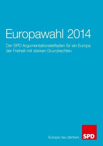 Ein Europa der Freiheit mit starken Grundrechten - SPD