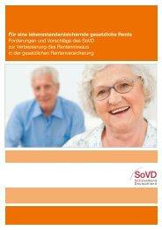 Für eine lebensstandardsichernde gesetzliche Rente ... - SoVD