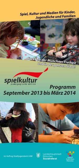 Programm September 2013 bis März 2014 - SPIELkultur