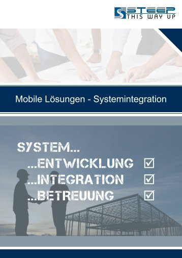 Mobile Lösungen - Systemintegration - Steep