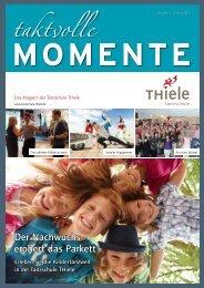 Taktvolle Momente (Ausgabe 5) – Herbst 2013 - Tanzschule Thiele