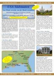 USA Südstaaten - Reisebüro - Brück