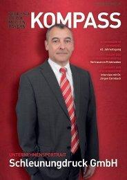 Kompass 02/2013 - Verband Druck und Medien Bayern eV