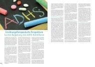 Ernährungstherapeutische Perspektiven bei ADHS