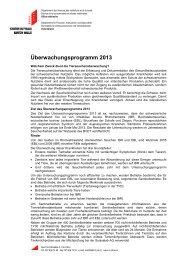 Überwachungsprogramm 2013