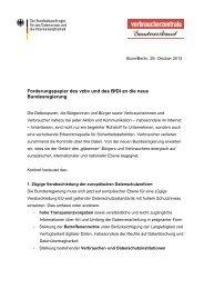 Forderungspapier des vzbv und des BfDI zum Datenschutz an die ...